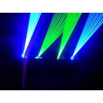 Laser 4 Salidas Azul Y Verde Big Dipper M500/gb4 510mw Dmx
