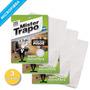 Oferta! 3 Paños Para Pisos 100% Microfibra Mr.trapo 62x48cm