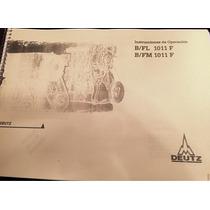 Manual De Taller Motor Deutz B/fl 1011f B/fm 1011f