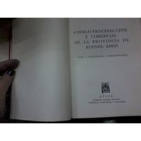Libro Codigo Procesal Civil Comercial Pcia Bs As Año 1968
