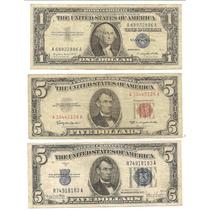 Antiguos Billetes De Eeuu 5-5-1