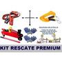 Kit Rescate 6 En 1 Crique+slinga+cable Puente+llavecruz+guan