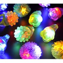 15 Anillos De Silicona Luminosos A Led Vs Cotillon Luminoso