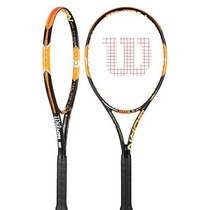 Raqueta Tenis Wilson Burn 100 Ls Grip 4 3/8 Envio Gratis