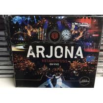 2cd +dvd Arjona Metamorfosis Vivo + Cd Regalo Nuevos
