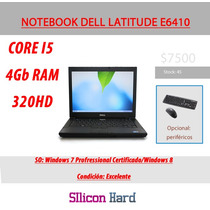 Notebook Dell Latitude E6410 Corei5-4gb Ram-320hd