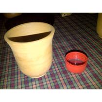 Vasos Cortos X 10unid En Barro Cocido Para Copetin O Tragos
