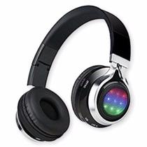 Auriculares Bluetooth Micro Sd Radio Fm Luz Audio Ritmica K8