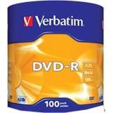 Dvd Virgen Verbatim -r Estampado X100 Unidades. No Sony Tdk
