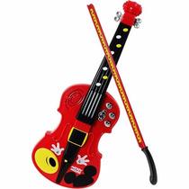 Violin Musical De Mickey Mouse Disney Concierto Con Luz Winf