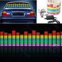 Luneta Audio Ritmica Led 90 X 25 Cm Ecualizador Digital