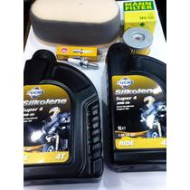 Kit Service Para Suzuki Dr 350, Aceite, Bujia Y Filtros