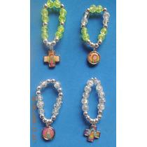 Porfis Comunion Mini Denarios Perlas Vidrio Hermosos Colores