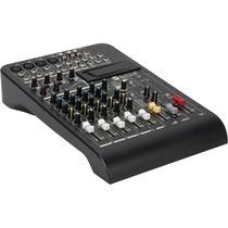 Mixer Consola No Potenciada L-pad 8 Rcf Efectos Oulet