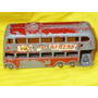 Autobus London Trolley Bus Ruedas Grises