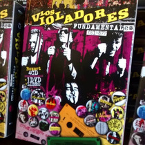 Los Violadores - Fundamentales 81-87 Box Set 4cd+dvd+libro
