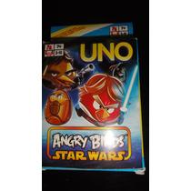 Souvenirs Juego Uno Angry Birds Star Wars X 12