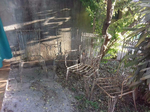Juego Sillones Jardin Hierro ( 4 Unid ) en venta en San Carlos ...