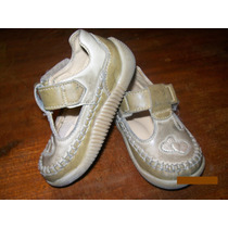 Zapatos Ferli Cuero Color Marron Nº19 Impecables!!