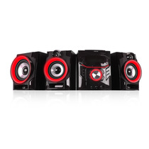 Minicomponente Proline Pr500-mr 5600w Subwoofer Bt Karaoke