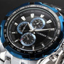 Reloj Acero Inoxidable Fashion De Lujo Usuario Gtel24 (22)