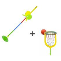 Juego De Basquet Serabot + Juego Tenis Serabot Aire Libre