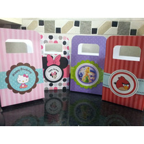 Souvenirs Bolsitas Carameleras - Minnie, Kitty, Angry Birds