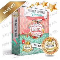 Kit Imprimible Premium - Candy Bar El Más Completo + Regalos