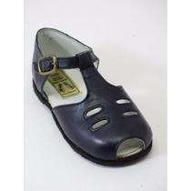 Divinos Zapatos Nena-legítimo Cuero Azul-un Solo Uso-21