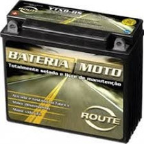 Bateria Route Ytx5l Bs Honda Cg Titan 150 Biz 125 Xr 125 Fas