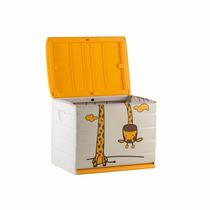 Baúl De Plástico Jirafa Juguetes S6 S7 Importado