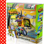 Trash Wheels Trash Pack Est Servicio Rampa Elevador+2autos