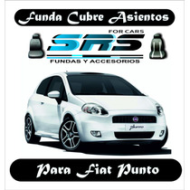 Funda Cubre Asientos De Cuero Eco P/ Fiat Punto