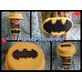 Frasco Golosinero Batman! Souvenir Regaleria Porcelana Fria