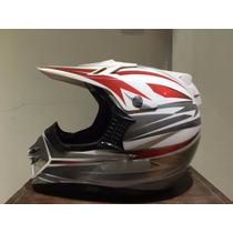 Casco Motocross O Cuatriciclo Zpf