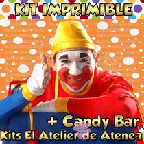 Kit Imprimible Candy Bar Piñon Fijo Todas Las Golosinas 2x1