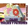 Kit Imprimible Todo Cajas -moldes Y Patrones-