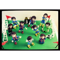 Jugadores Fútbol Adorno Torta Deporte