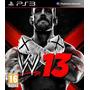 W13 Smack Down Vs Raw 13 Ps3 Fisico Original En Caja!