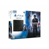 Ps4 Playstation 4 Slim 500gb Uncharted 4 * Modelo Nuevo *