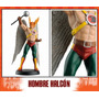 Figura De Plomo #33 Hombre Halcón - Dc Comics - Aguilar