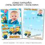 Minions Combo Cumpleaños: Cartel Bienvenida + Afiche Firmas