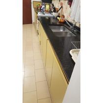 Mueble Cocina + Mesada Marmol + Bacha + Grif +alacena (7mts)
