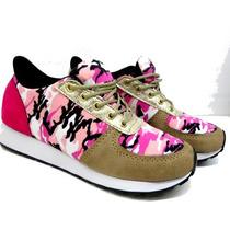 Zapatilla Sneakers Con Plataforma - Primavera Ultima Moda