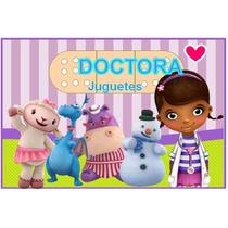 Kit Imprimible Doctora Juguetes Golosina Personalizada Candy