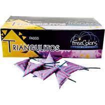 Triangulito Multicolor Fuegos Artificiales Pirotecnia