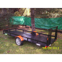 Trailer Doble C/ Rampa 0km