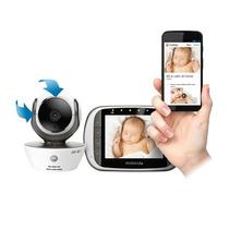 Baby Call Monitor Bebe C/ Video Camara Wifi Motorola Mbp 853