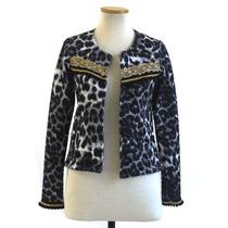 Chaqueta Margot Blazer Estampado Combinado Mujer Saco