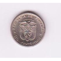 Panamá Moneda De 2 ½ Centimos De Balboa - 1973